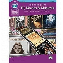 TOP HITS FROM TV MOVIES + MUSICALS - arrangiert für Posaune - mit CD [Noten/Sheetmusic]