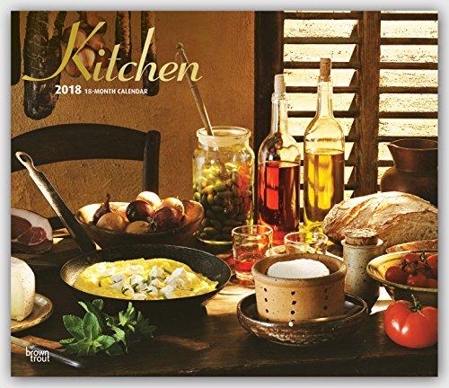 Descargar Libro Kitchen - Küchen 2018 - 18-Monatskalender: Original BrownTrout-Kalender - Deluxe de Browntrout Publishers