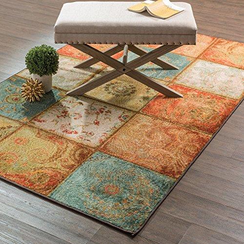 American Rug Craftsmen Mohawk Home Free Flow Artefakt Panel Teppich, Multi, 1'8x2'10 (Teppiche 10x10)