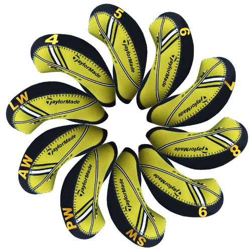 taylormade-rbladez-capuchon-fer-de-golf-10pcs-noir-jaune-mt-t15