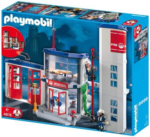 Preisvergleich Produktbild PLAYMOBIL 4819 - Feuerwehr-Hauptquartier