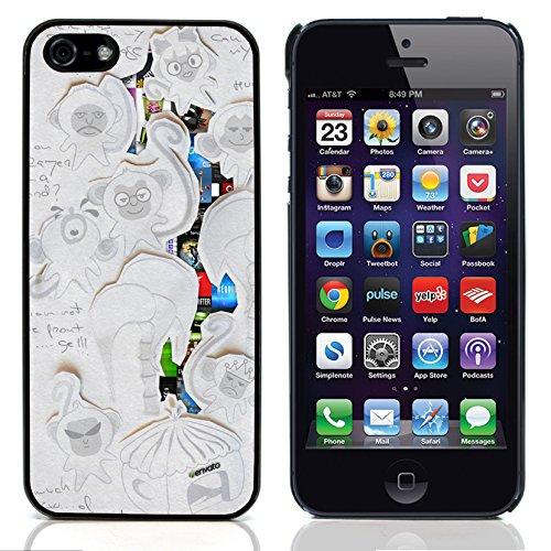 Graphic4You Curves On Canvas Digital Art Muster Design Harte Hülle Case Tasche Schutzhülle für Apple iPhone 5 und 5S Design #9