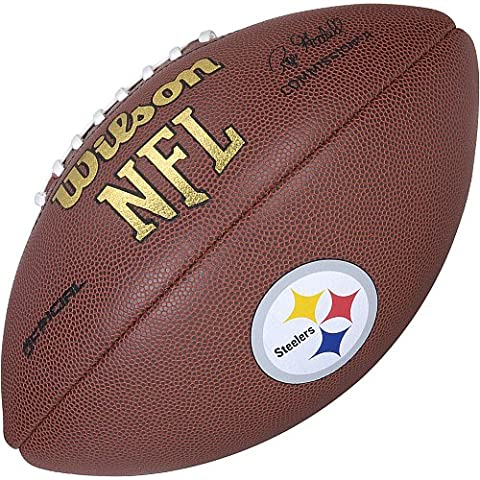 Wilson NFL Pittsburgh Steelers Full Size Composite Football