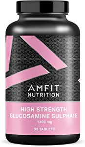 Marchio Amazon - Amfit Nutrition, Glucosamina Solfato, 1400 mg, 90 compresse