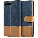 BEZ Case for Sony Xperia X Compact Case, Flip Wallet