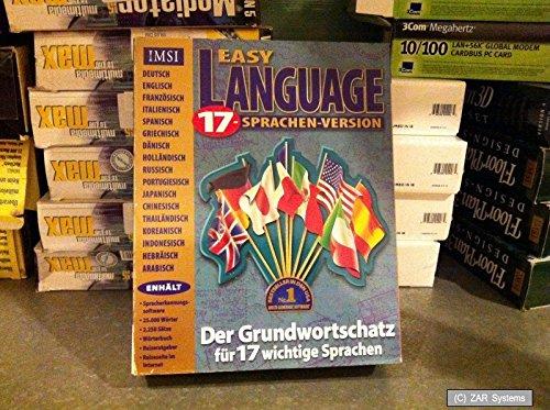 IMSI Easy Language 17 Spachen Lernsoftware ~NEU~
