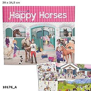 Top Model Create Your Happy Horses (0010176), Multicolor (DEPESCHE 1)