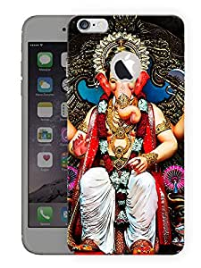 "Humor Gang Shri Ganesh Ji - - Indian Hindu God Printed Designer Mobile Back Cover For ""Apple Iphone 6 - 6s"" By Humor Gang (3D, Matte Finish, Premium Quality, Protective Snap On Slim Hard Phone Case, Multi Color)"