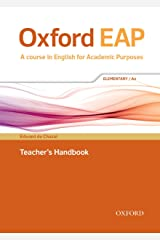 Oxford EAP: Elementary/A2: Teacher's Book, DVD and Audio CD Pack Paperback