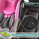 61w9iYBQvKL._SS150_ Autositzauflage Kindersitzunterlage, Nasharia Auto-Kindersitzunterlage wasserabweisend mit dicksten Polsterung zum Schutz vor Kindersitzen Isofix geeignet, Autositzschutz für Textil- und Ledersitze