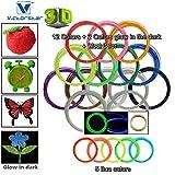 Victorstar @ 3D-Stift Filament Minen 20 Farben 656 Lineare Fuß