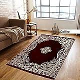Bhaiji Bedsheets Velvet Touch Carpet 5X7 Feet