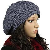 Chapeau Chaud d'hiver, Bonnet tricoté TheBigThumb pour Hommes Femmes Hip-Hop Ski Chapeau Stretch Cable Chapeau tricoté pour A