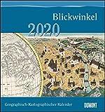 Geographisch-Kartographischer Kalender 2020 – Der Blickwinkel des Kartographen – Wand-Kalender mit historischen Landkarten – 45 x 48 cm