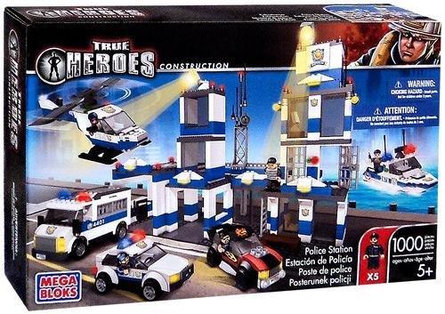True Heroes Mega Bloks Set Police Station by True Heroes