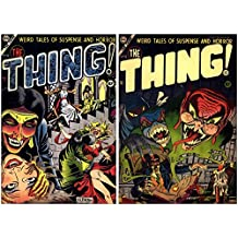 The Thing Issues 12 & 13. Weird Tales of suspense and horror. (History of horror comics) (English Edition)