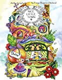 Nice Little Town - Adult Coloring Book (Stress Relieving Coloring Pages, Coloring Book for Relaxation)