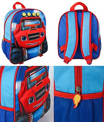 Imagen de takestop®   3d blaze moster machines zoom bolso 31cm escuela comedor guardería materna para niños niño bebé