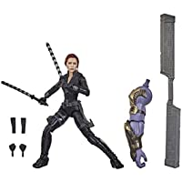 Marvel Legends Series Avengers 6-Inch Collectible Action Figure Toy Black Widow, Premium Design and 6 Accessories