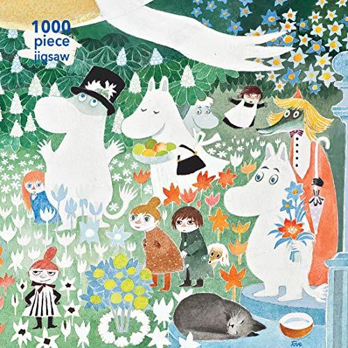 Adult Jigsaw Moomin: A Dangerous Journey (1000-piece jigsaws)