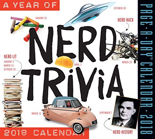 A Year of Nerd Trivia 2018 Page-A-Day Calendar