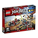 LEGO - Persecución en la moto ninja, multicolor (70600)