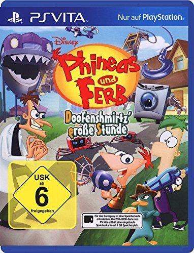 Phineas & Ferb: Doofenshmirtz\' große Stunde [PlayStation Vita]