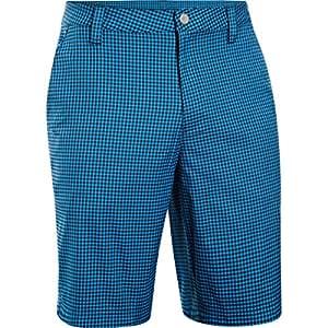 Under Armour Men's Gingham Style Shorts blue Ady/elb/Noi Size:30