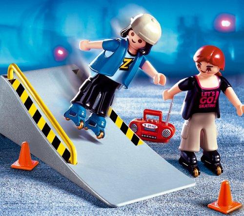 PLAYMOBIL® 4415 - 2 Skater mit Rampe