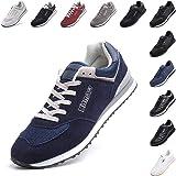 Zapatillas Hombre Mujer Casual Sneaker Gimnasio Cómodos Clásico Zapatos Deportivas Running Negras Azul Beige Rojo Talla 36-48