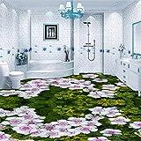 Mbwlkj Tapete Benutzerdefinierte Boden Malerei 3D Wohnzimmer Meer Spray Surf Boden Dekoration Malerei 3D Selbstklebende Bodenbelag Fliesen Zu Malen-400cmx280cm