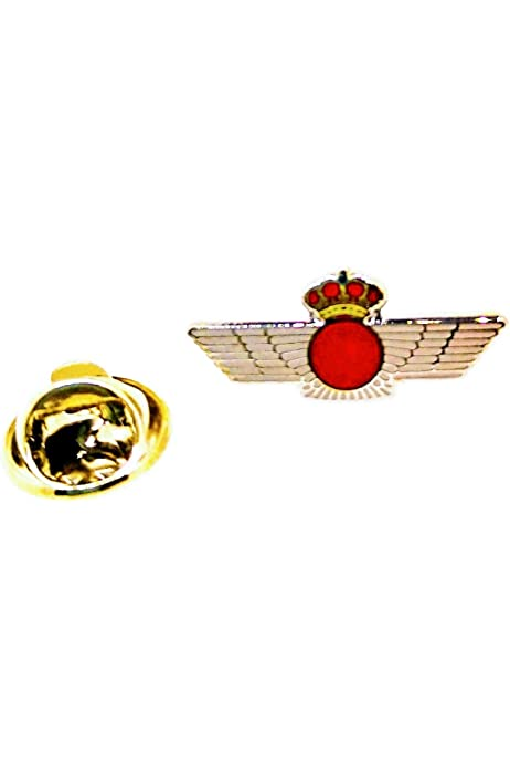 Gemelolandia Pin de Solapa Emblema Ejército Español del Aire Plateado 22x10mm: Amazon.es: Ropa y accesorios