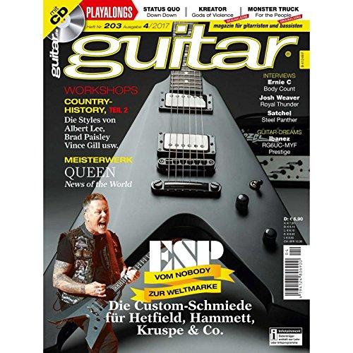 ESP vom Nobody zur Weltmarke - guitar Magazin mit Play along CD - Interviews - Workshops - Gitarre Playalongs - Gitarre Test und Technik