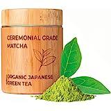MATCHITA - Té Verde Matcha Orgánico en Polvo   100% EU-BIO   Grado Más Alto   Bebida Japonesa de Grado Ceremonial   Bebidas F