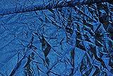 alles-meine.de GmbH 1 m * 1,50 m Taft - Crash Stoff in dunkelblau / rot z.B. für Festkleidung - changierend - Stoff Stoffe Nähen - Taftstoff Crashstoff