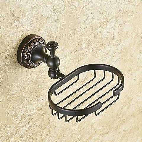 Il rame porta saponetta, bronzo scuro sapone NET, sapone ceste,