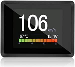 Multifunktionale Obd Instrument High Definition Lcd Farbbildschirm Auto Hud Head Up Display Fahrzeug Diagnose Tool Unterstützung Obd Ii Benzin Diesel Fahrzeuge Auto