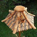 Großes Vogelhaus Futterhaus Vogelhäuschen --Wetterschutz-- OK22