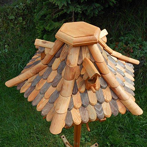 Großes Vogelhaus Futterhaus Vogelhäuschen –Wetterschutz– OK22 - 2