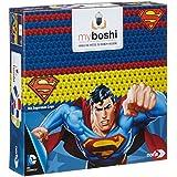 Noris-Spiele 606311364 - Myboshi Superhelden - Superman, Häkel-set