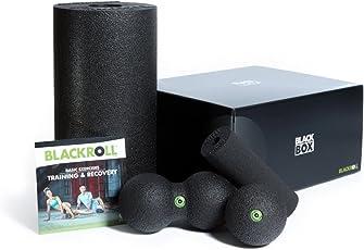 BLACKROLL BLACKBOX - Faszientool-Sets in Verschiedenen Variationen - Das Original. Selbstmassage-Produkte für die Faszien + DVD & Übungskarte