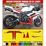 Stickers YAMAHA YZF-R1R1(2007) Kit Decal compatibles carénage Cod. 0324