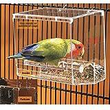 Bird Feeder, Acryl Clear Fenster mit Starker Saugnapf (Farbe : #1)