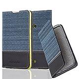 Nokia Lumia 625 Hülle in DUNKEL BLAU SCHWARZ von Cadorabo