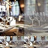 Milchglas Folie Fenster Folie Punkt Design Selbstklebend 7,23€/m² (1m x152cm breit)