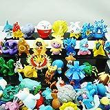 24 diferentes figuras de Pokemon en el conjunto 1-3 cm COLECCIONES - perfecto para el calendario de Adviento para el relleno Mini Monster Pokemon GO