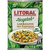 Litoral Garbanzos Con Espinacas - 425 g