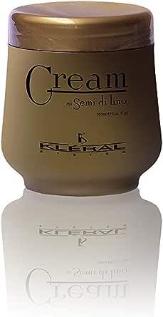 Kléral Crema ai semi di lino per Capelli, 250 Millilitri