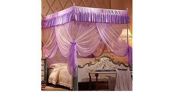 Zanzariera Letto Cotone : Quattro angolo pink princess zanzariera tre portello acciaio inox