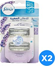Febreze Small Spaces Lavender Air Freshener Refill 2 Count @25%off